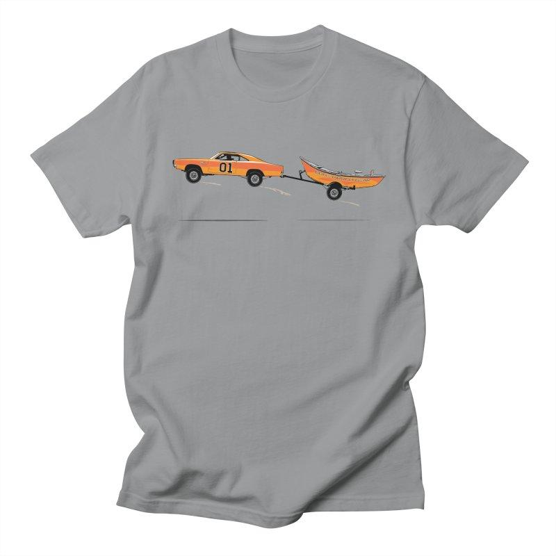 Dreaming in Men's Regular T-Shirt Slate by Boneyard Studio - Boneyard Fly Gear