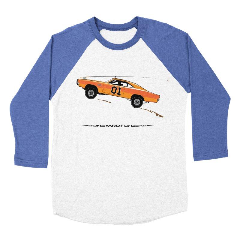 General Spey Men's Baseball Triblend T-Shirt by Boneyard Studio - Boneyard Fly Gear