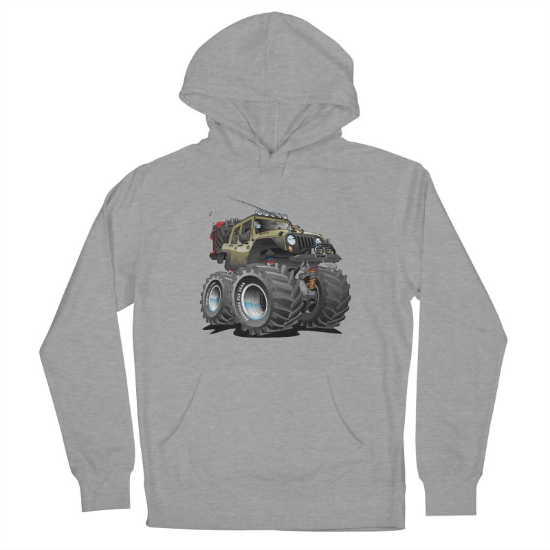 You wouldn't understand in Men's Pullover Hoody Heather Graphite by Boneyard Studio - Boneyard Fly Gear