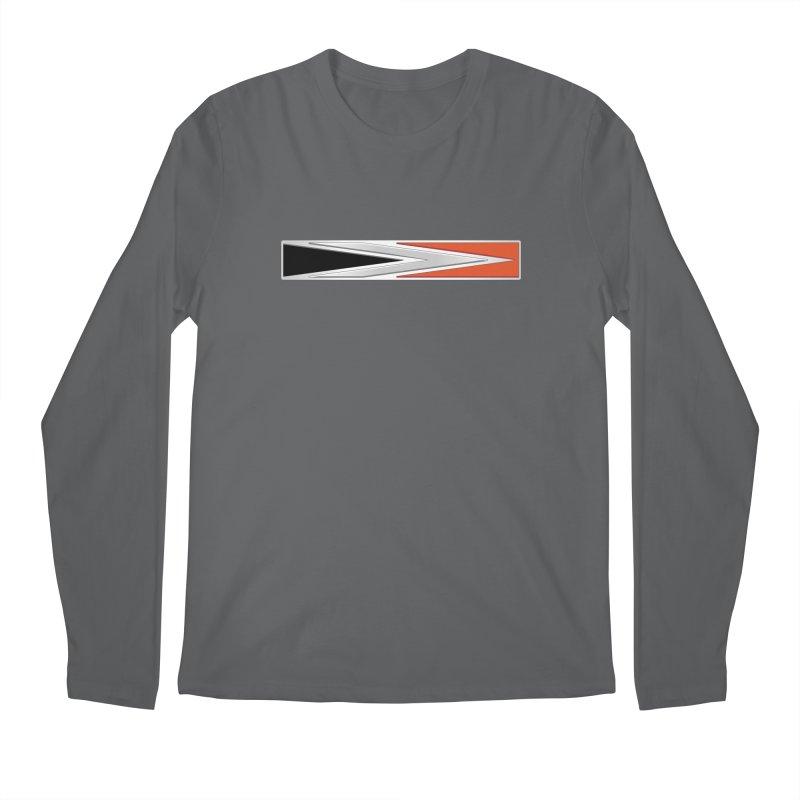Charger Emblem Men's Longsleeve T-Shirt by Boneyard Studio - Boneyard Fly Gear