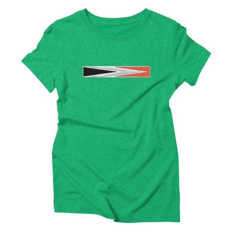 Charger Emblem Women's Triblend T-Shirt by Boneyard Studio - Boneyard Fly Gear
