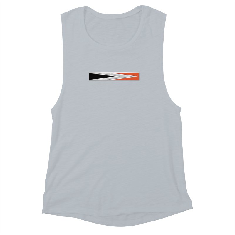 Charger Emblem Women's Muscle Tank by Boneyard Studio - Boneyard Fly Gear