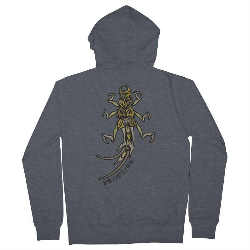 BYFG Stone Fly -Camo Edition Men's Zip-Up Hoody by Boneyard Studio - Boneyard Fly Gear