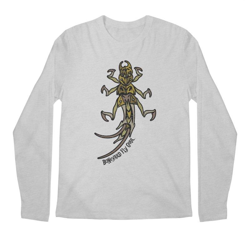 BYFG Stone Fly -Camo Edition Men's Longsleeve T-Shirt by Boneyard Studio - Boneyard Fly Gear