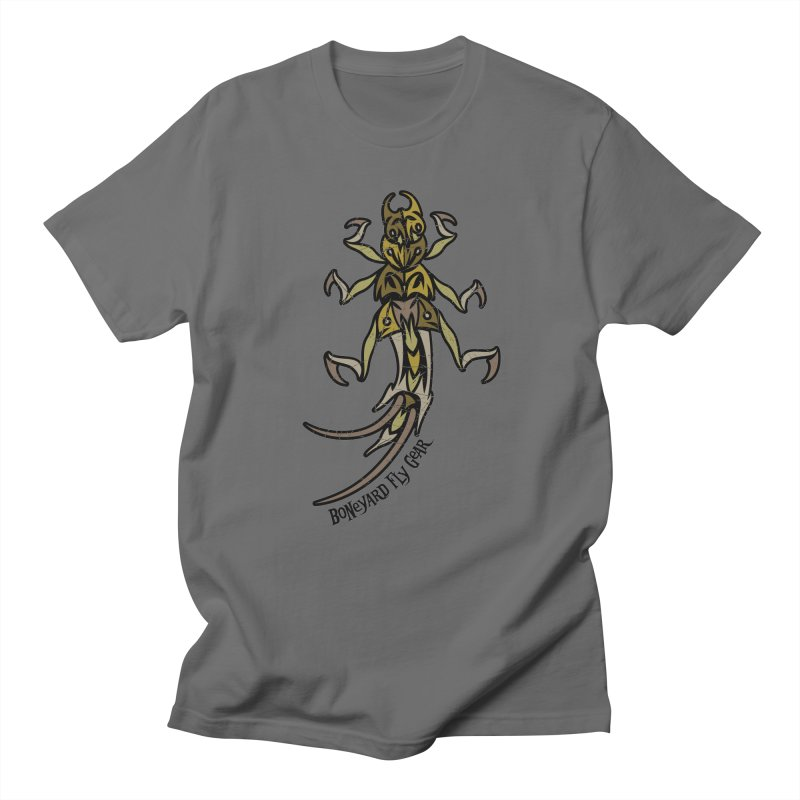BYFG Stone Fly -Camo Edition in Men's T-Shirt Asphalt by Boneyard Studio - Boneyard Fly Gear