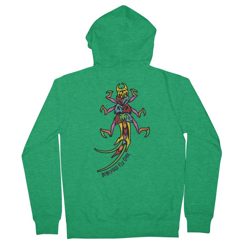 BYFG Stonefly - PoP ArT Women's Zip-Up Hoody by Boneyard Studio - Boneyard Fly Gear