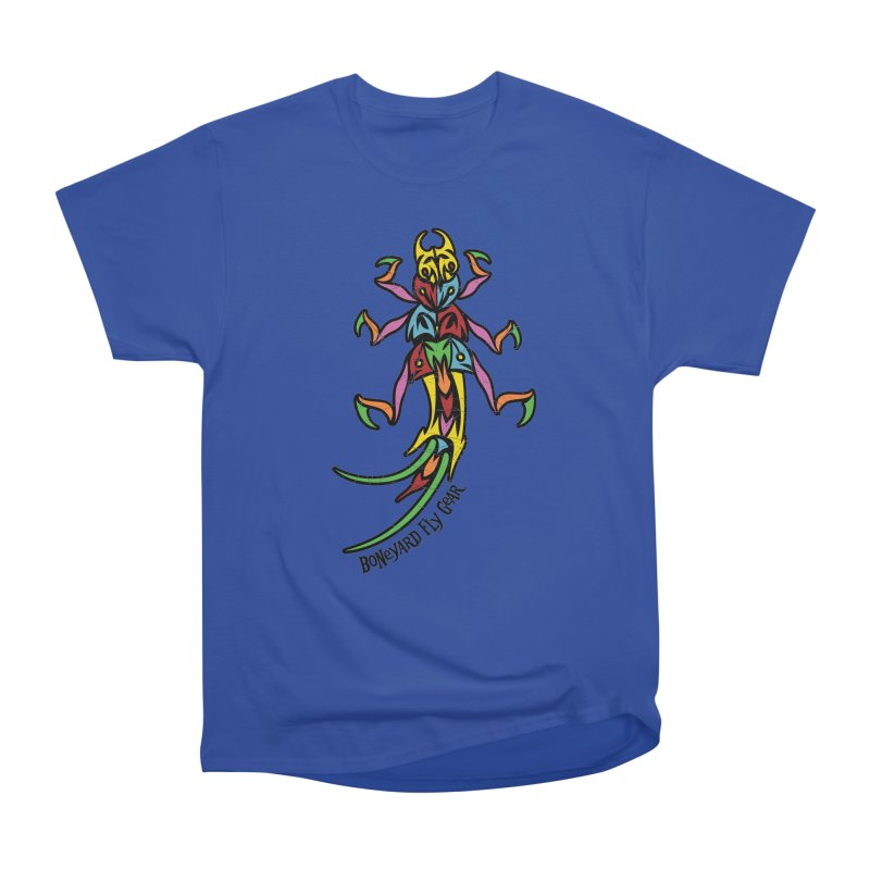 BYFG Stonefly - PoP ArT Men's Heavyweight T-Shirt by Boneyard Studio - Boneyard Fly Gear