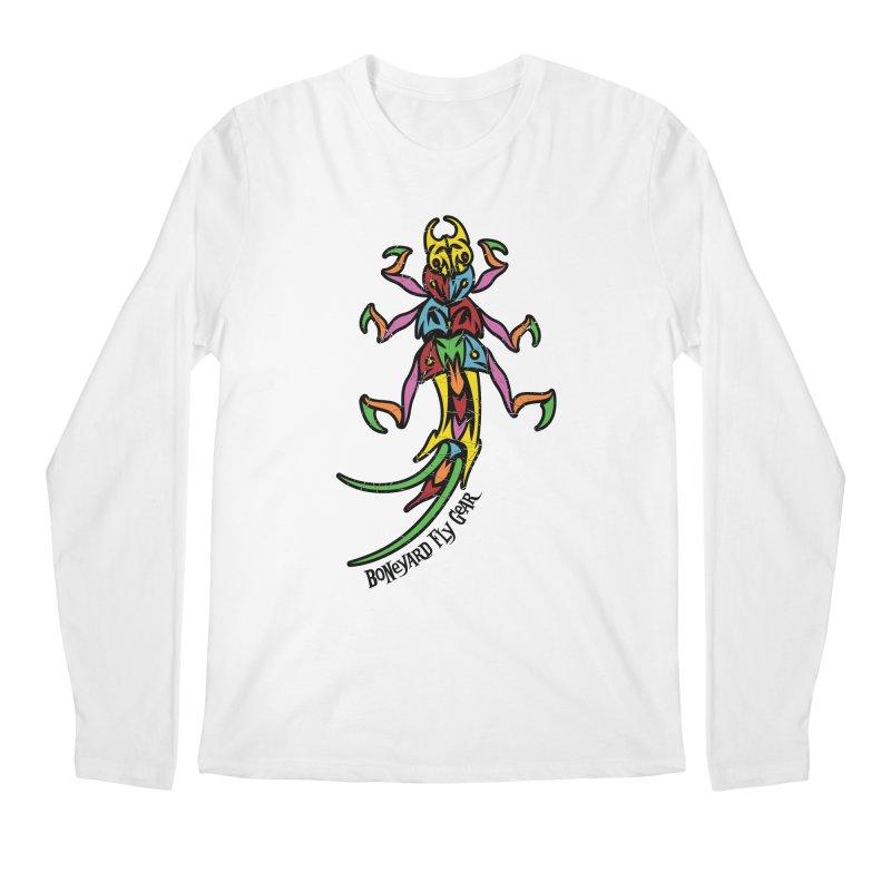 BYFG Stonefly - PoP ArT Men's Longsleeve T-Shirt by Boneyard Studio - Boneyard Fly Gear