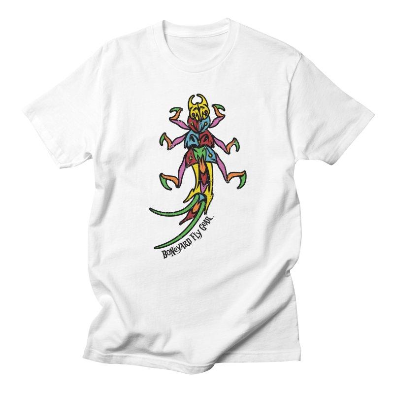 BYFG Stonefly - PoP ArT Women's Unisex T-Shirt by Boneyard Studio - Boneyard Fly Gear