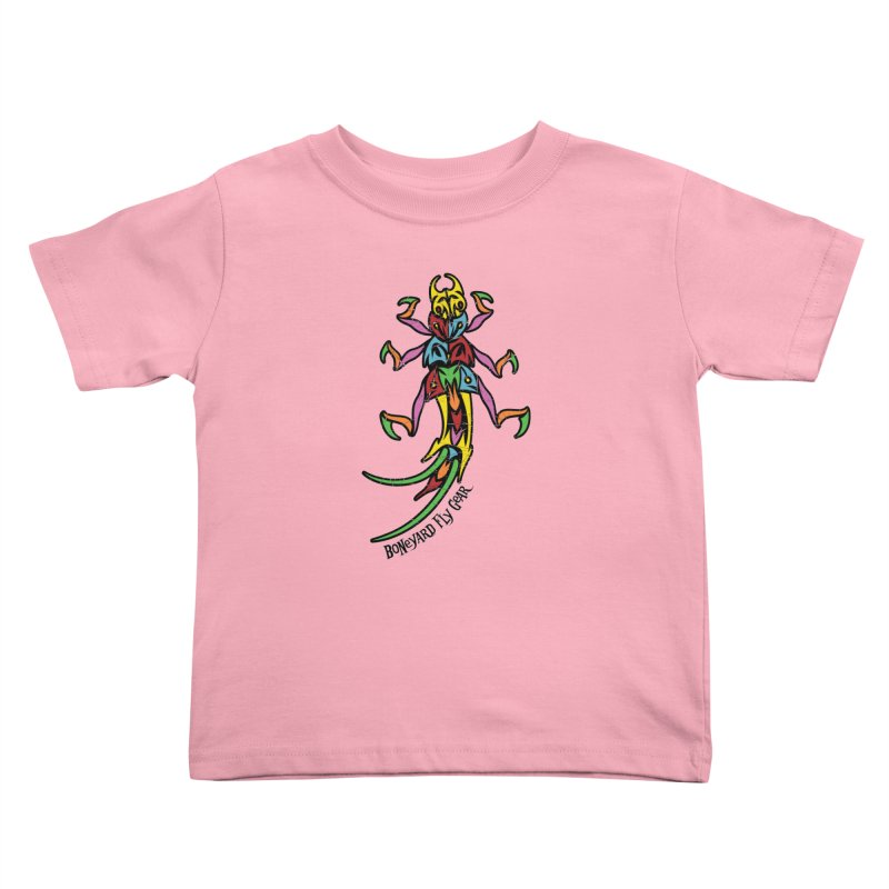 BYFG Stonefly - PoP ArT Kids Toddler T-Shirt by Boneyard Studio - Boneyard Fly Gear