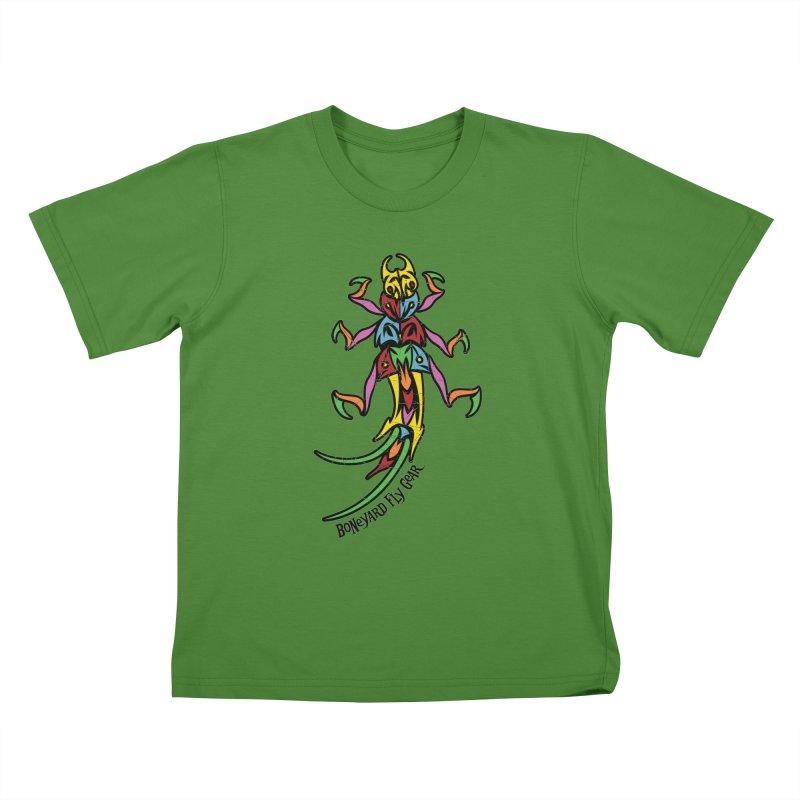 BYFG Stonefly - PoP ArT Kids T-Shirt by Boneyard Studio - Boneyard Fly Gear