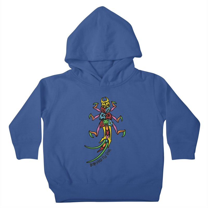 BYFG Stonefly - PoP ArT Kids Toddler Pullover Hoody by Boneyard Studio - Boneyard Fly Gear