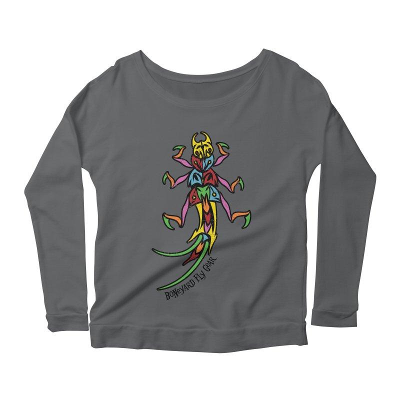 BYFG Stonefly - PoP ArT Women's Longsleeve T-Shirt by Boneyard Studio - Boneyard Fly Gear