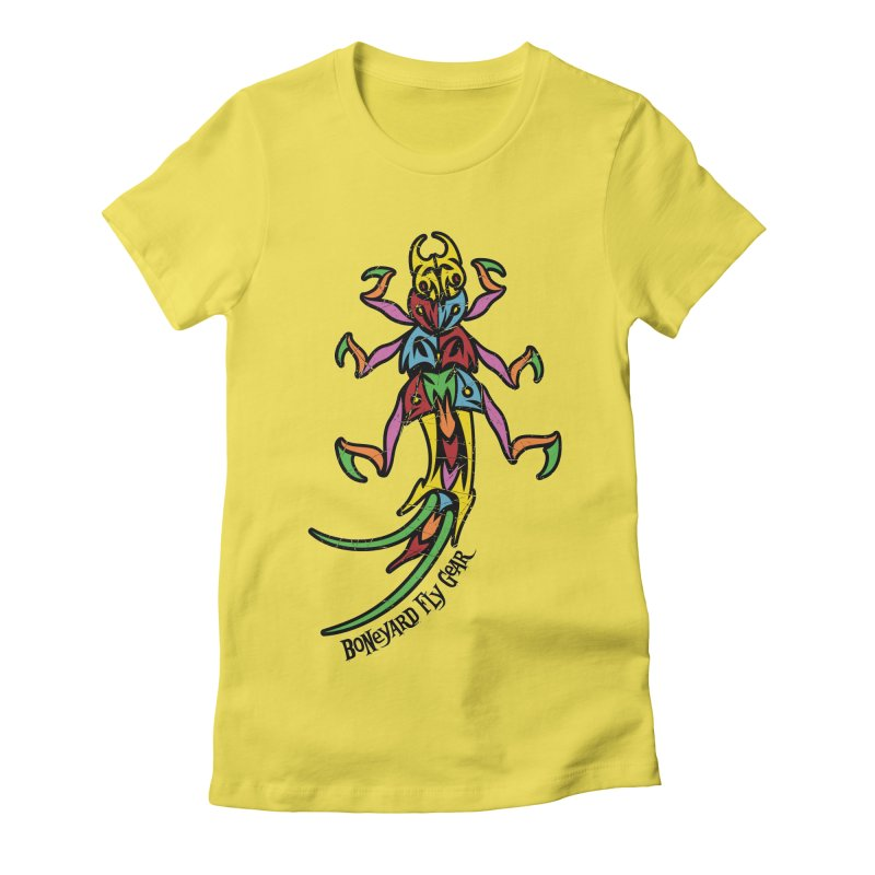 BYFG Stonefly - PoP ArT Women's T-Shirt by Boneyard Studio - Boneyard Fly Gear