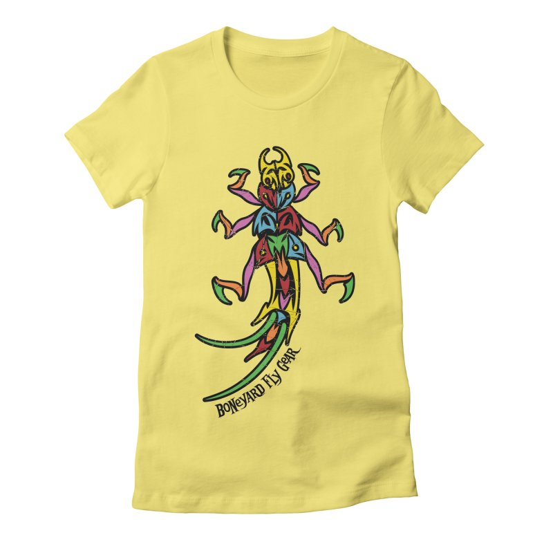 BYFG Stonefly - PoP ArT Women's T-Shirt by Boneyard Studio - Boneyard Fly Gear