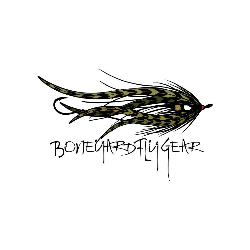 Spey Fly Men's T-Shirt by Boneyard Studio - Boneyard Fly Gear