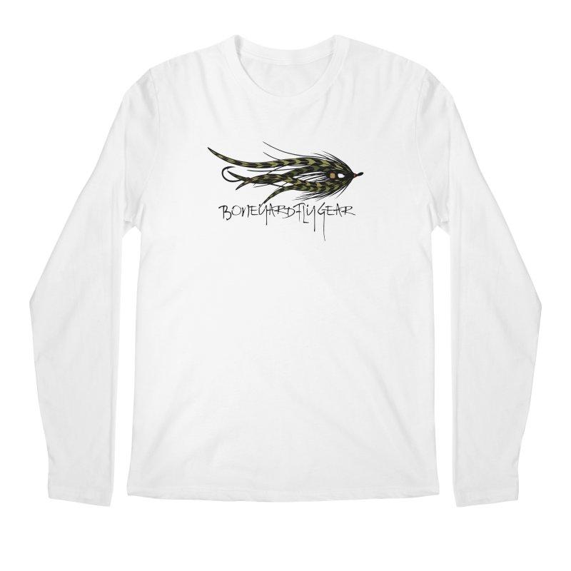 Spey Fly Men's Longsleeve T-Shirt by Boneyard Studio - Boneyard Fly Gear