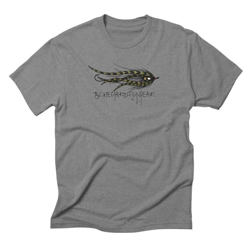 Spey Fly Men's Triblend T-shirt by Boneyard Studio - Boneyard Fly Gear