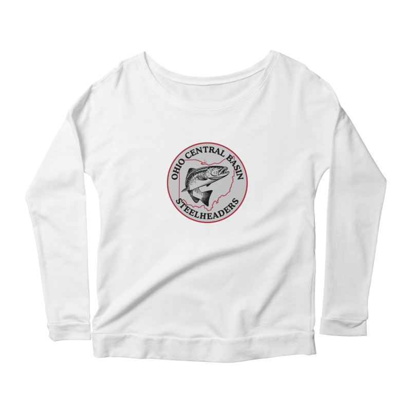 OCBS -Design 2017 Women's Scoop Neck Longsleeve T-Shirt by Boneyard Studio - Boneyard Fly Gear