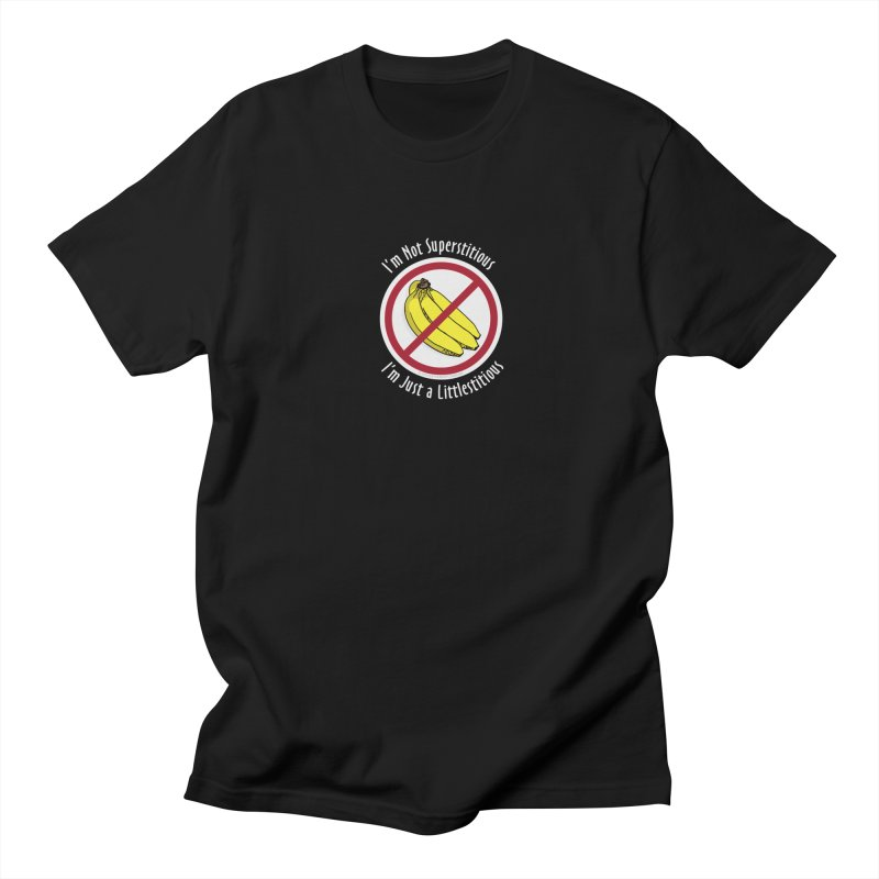 I'm Not Superstitious Men's T-Shirt by Boneyard Studio - Boneyard Fly Gear