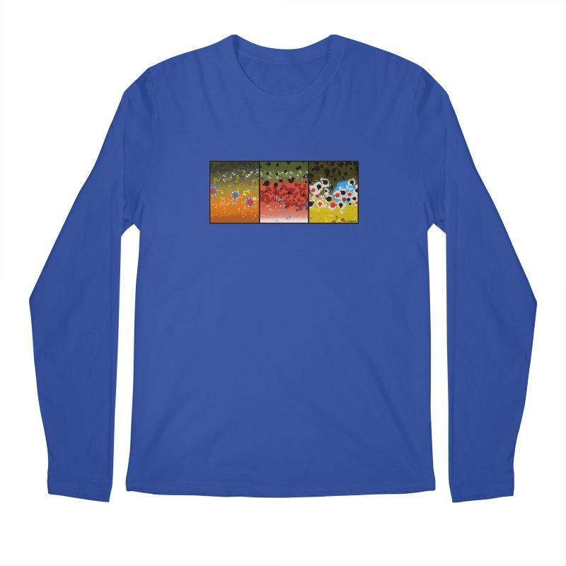 We Three Trout Men's Regular Longsleeve T-Shirt by Boneyard Studio - Boneyard Fly Gear