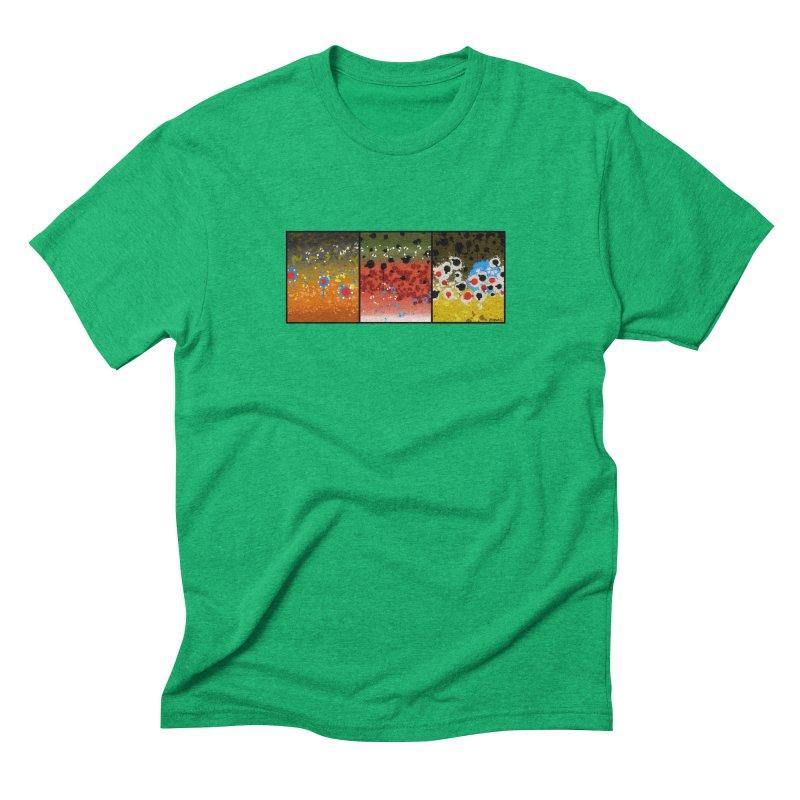 We Three Trout Men's Triblend T-Shirt by Boneyard Studio - Boneyard Fly Gear