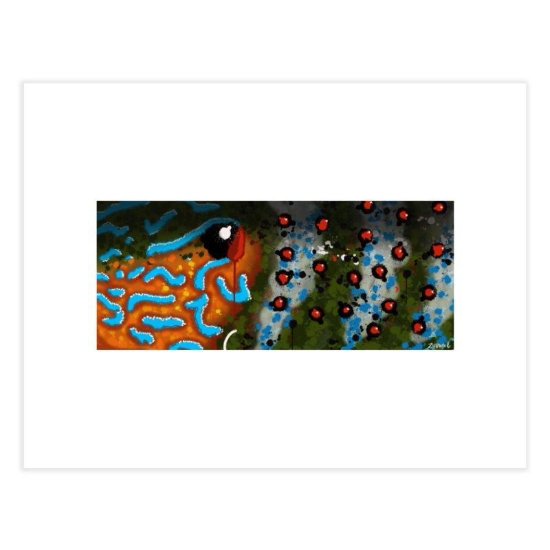 Graffiti Pumpkinseed Sunfish - Fine Art Print Home Fine Art Print by Boneyard Studio - Boneyard Fly Gear