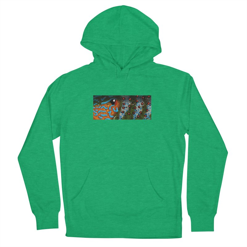 Graffiti Pumpkinseed Sunfish Men's Pullover Hoody by Boneyard Studio - Boneyard Fly Gear