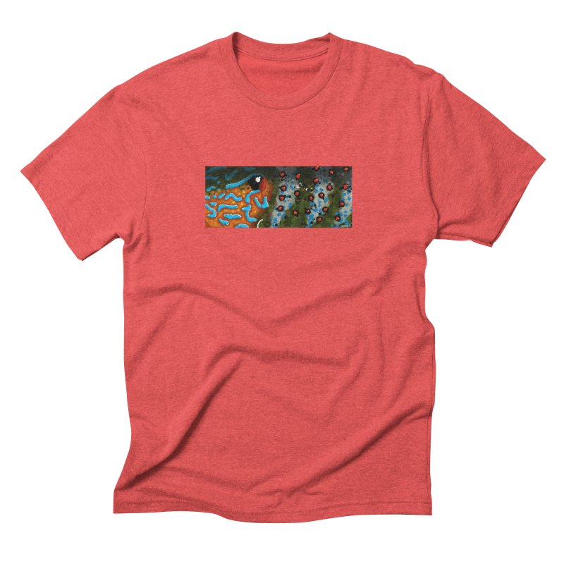 Pumpkinseed Men's Triblend T-Shirt by Boneyard Studio - Boneyard Fly Gear