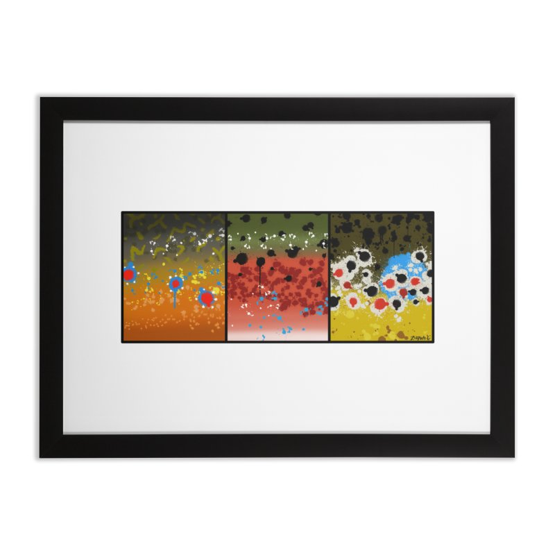 We Three Trout - Fine Art Print Home Framed Fine Art Print by Boneyard Studio - Boneyard Fly Gear