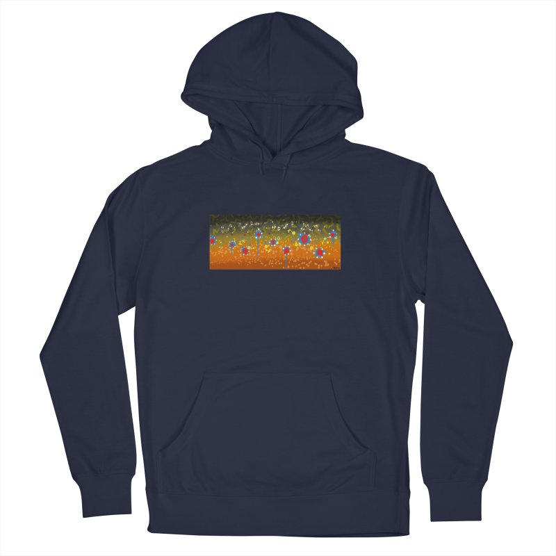 Graffiti Brook Trout Men's Pullover Hoody by Boneyard Studio - Boneyard Fly Gear