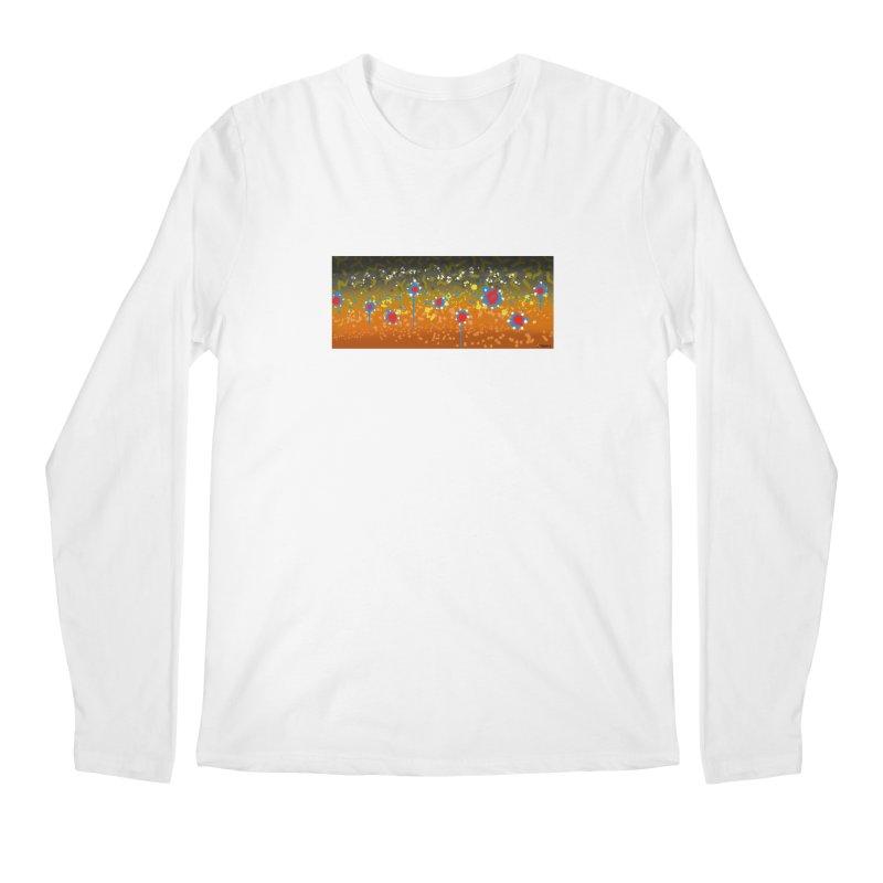 Graffiti Brook Trout Men's Longsleeve T-Shirt by Boneyard Studio - Boneyard Fly Gear