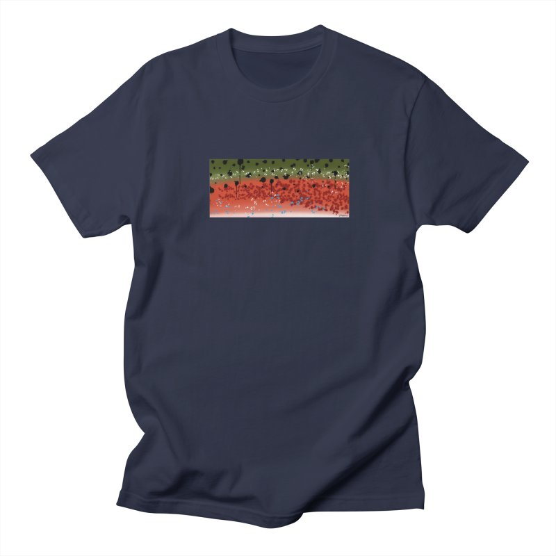Rainbow Trout Men's T-Shirt by Boneyard Studio - Boneyard Fly Gear