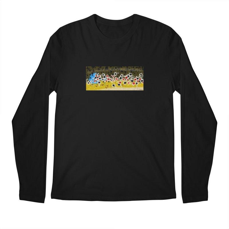 Graffiti Brown Trout Men's Regular Longsleeve T-Shirt by Boneyard Studio - Boneyard Fly Gear