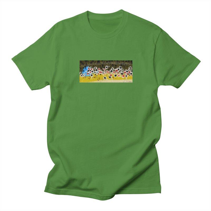 Graffiti Brown Trout Men's T-Shirt by Boneyard Studio - Boneyard Fly Gear
