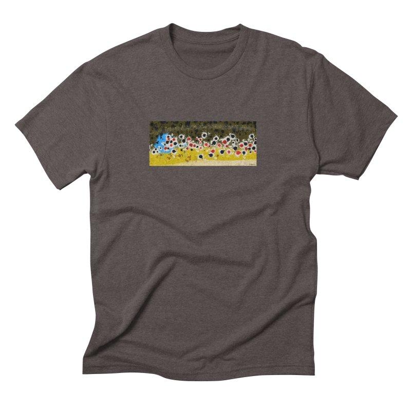 Brown Trout Men's Triblend T-Shirt by Boneyard Studio - Boneyard Fly Gear