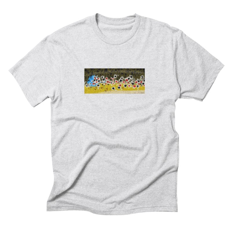 Graffiti Brown Trout Men's Triblend T-Shirt by Boneyard Studio - Boneyard Fly Gear