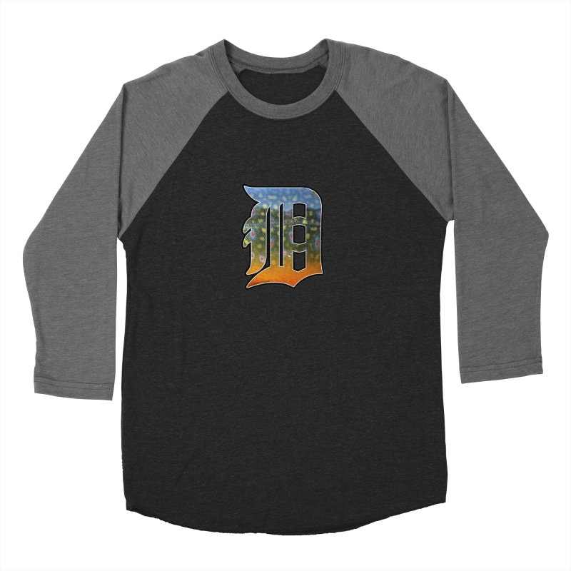 Motown Brookie Women's Baseball Triblend Longsleeve T-Shirt by Boneyard Studio - Boneyard Fly Gear