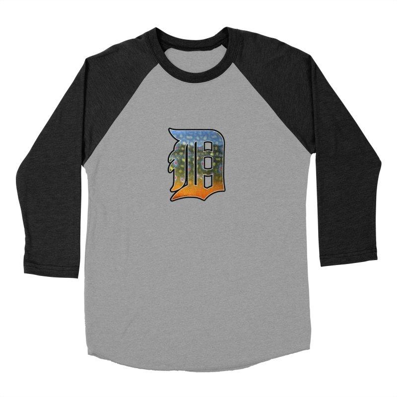 Motown Brookie Women's Baseball Triblend Longsleeve T-Shirt by Boneyard Studio - Boneyard Fly Gear