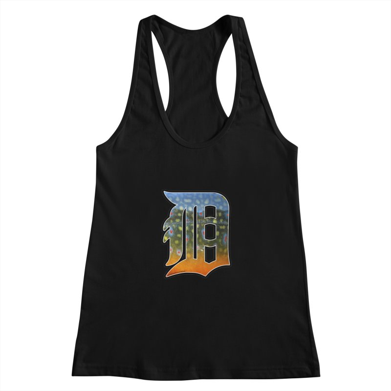 Motown Brookie Women's Racerback Tank by Boneyard Studio - Boneyard Fly Gear