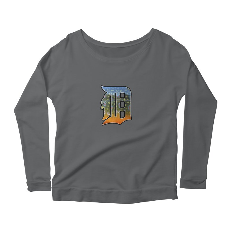 Motown Brookie Women's Scoop Neck Longsleeve T-Shirt by Boneyard Studio - Boneyard Fly Gear