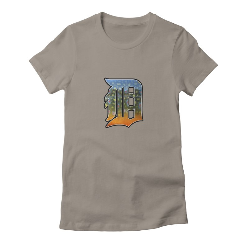 Motown Brookie Women's T-Shirt by Boneyard Studio - Boneyard Fly Gear