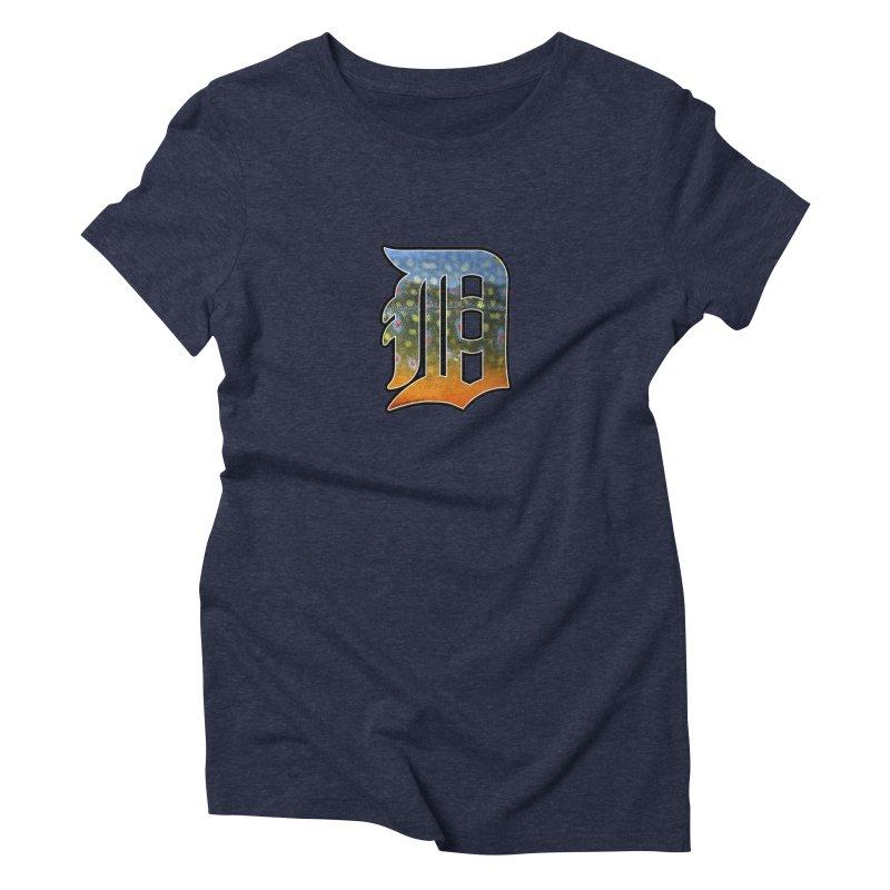 Motown Brookie Women's Triblend T-Shirt by Boneyard Studio - Boneyard Fly Gear