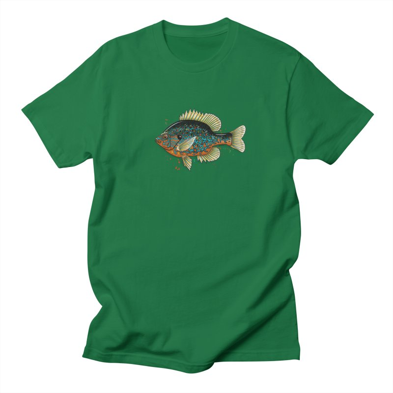 Pumpkinseed Men's T-Shirt by Boneyard Studio - Boneyard Fly Gear