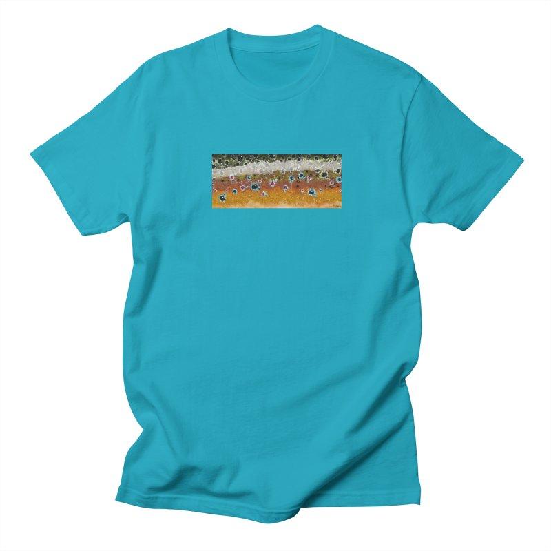 Morning Brown Trout Men's Regular T-Shirt by Boneyard Studio - Boneyard Fly Gear