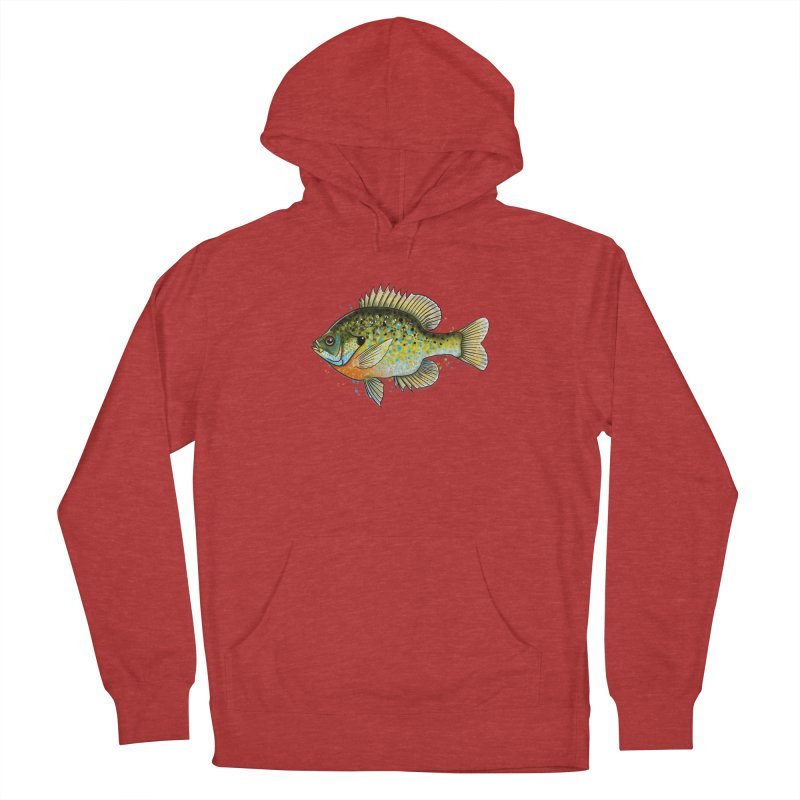 Bluegill Women's French Terry Pullover Hoody by Boneyard Studio - Boneyard Fly Gear