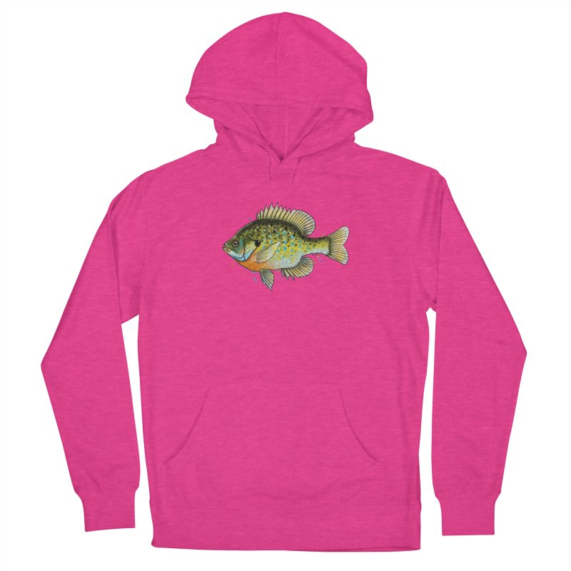 Bluegill Men's French Terry Pullover Hoody by Boneyard Studio - Boneyard Fly Gear