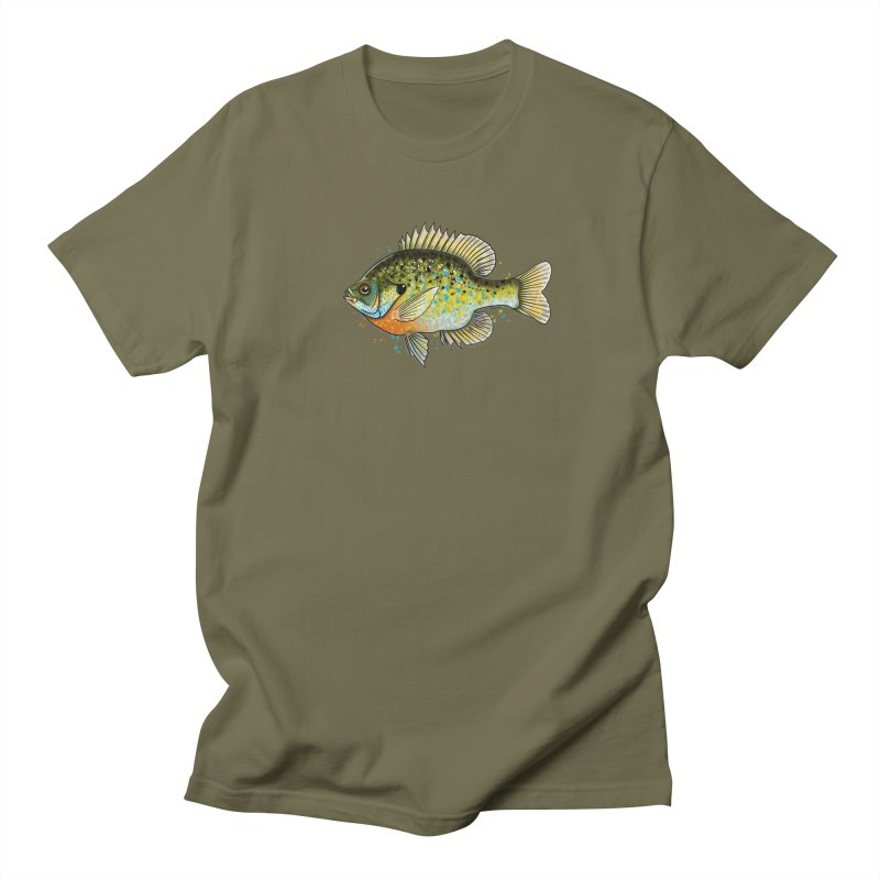 Bluegill Men's T-Shirt by Boneyard Studio - Boneyard Fly Gear