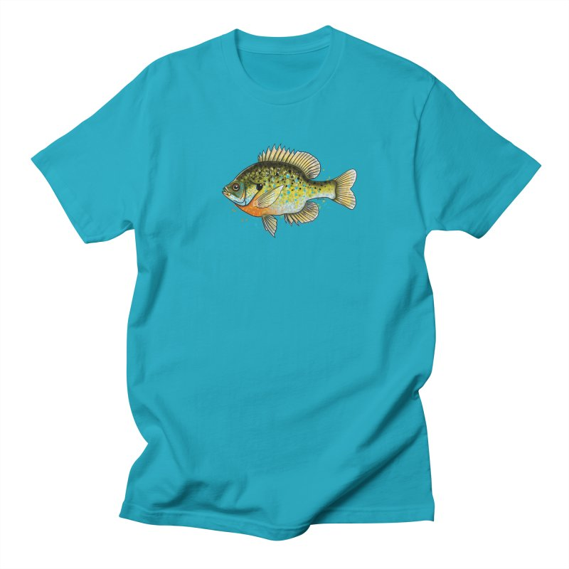 Bluegill Men's T-Shirt by Boneyard Studio - Boneyard Fly Gear