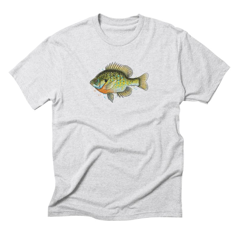 Bluegill Men's Triblend T-Shirt by Boneyard Studio - Boneyard Fly Gear